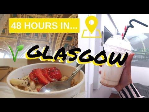 VEGAN FOOD GUIDE IN... Glasgow!|K&K