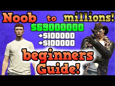 New Players Guide To Earning Millions Part 1 - GTA Online