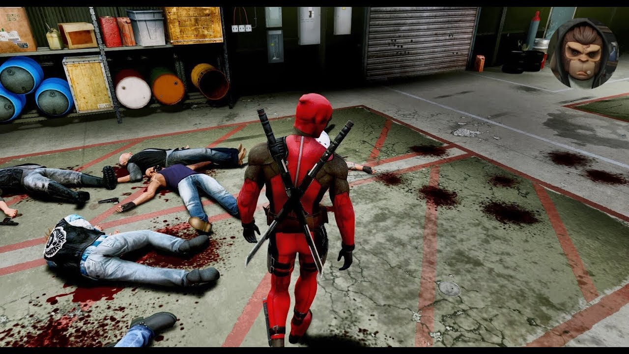 ► GTA 6 Graphics ? DEADPOOL Action Gameplay! 60 FPS | ULTRA Realistic Graphics ? PC GTA V MOD