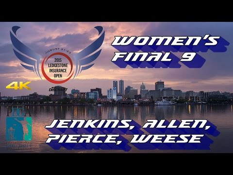 2015 Ledgestone Open: FPO Final 9 (Jenkins, Allen, Pierce, Weese) (4K)