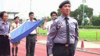 陸運會1617步操及升旗YCKMC余振強紀念中學