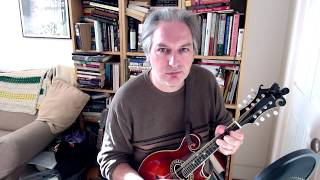 The Friendly Visit (hornpipe) on mandolin