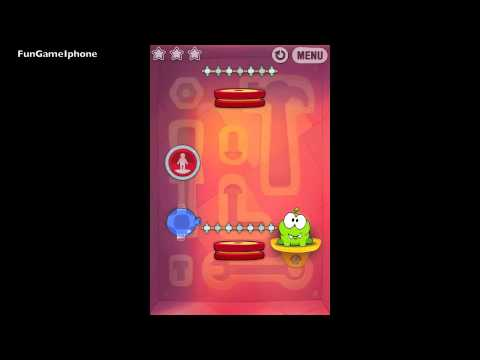 Cut the Rope 4-9 Experiments Drawing rocket science result improved IPhone 4S 3 stars from YouTube · Duration:  21 seconds