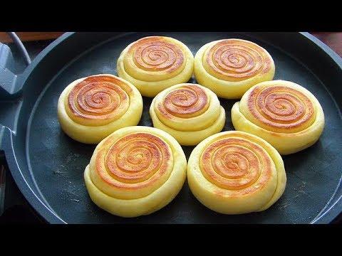 奶香发面饼的做法,蓬松暄软,浓浓的奶香味,做法简单