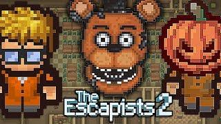 Uciekamy z NOWEGO WIĘZIENIA *FNAF*    THE ESCAPISTS 2 PL #37