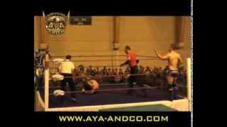 AYA C.A.T.C.H. Juin 2013 - Tristan ARCHER & Justin SATURN vs Blue FALCON & Ivan le TERRIBLE
