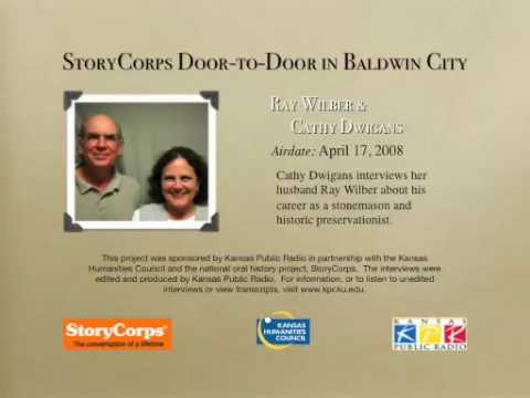 StoryCorps in Baldwin City: Ray Wilber & Cathy Dwi...