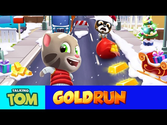 Talking Tom Gold Run (NEW UPDATE) - Run to Catch the Winter Fun!