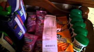 CVS coupon haul 1-31-12 and 2-01-12 I saved over $112 in one transaction!