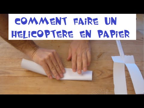 ludik experiences n 9 faire un helicoptere en papier youtube. Black Bedroom Furniture Sets. Home Design Ideas