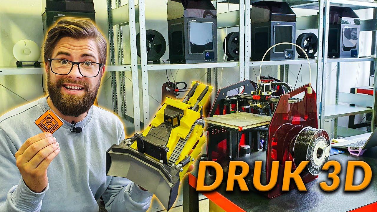 DRUK 3D - PRACA, ZAROBKI, KOSZTY? | DO ROBOTY