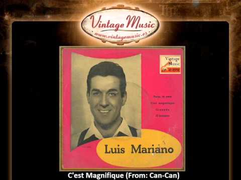 Luis Mariano -- C'est Magnifique (From Can-Can) (VintageMusic.es) Videos De Viajes