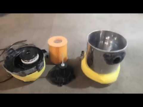Как увеличить мощность строительного пылесоса