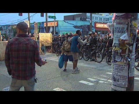 Бунтующий Сиэтл остался без «автономной зоны»