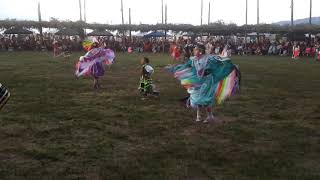 TAOS PUEBLO POW WOW 2019 DAY 2  EVENING-  Young Girls Combined
