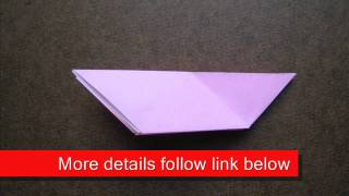 How To Fold Origami Dove - Origamiinstruction.com