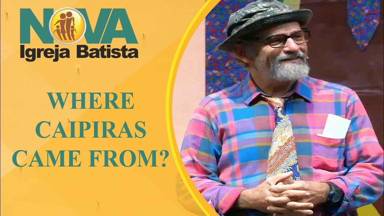 WHERE CAIPIRAS CAME FROM?