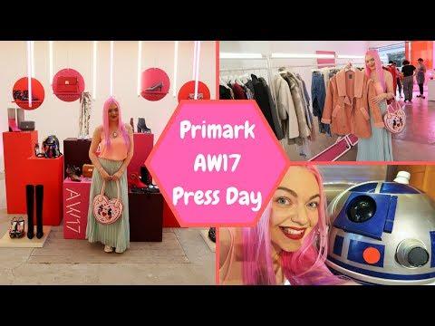 Primark AW17 Press Day & Disney Store London Tour | Vlog #3