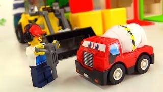 Vidéo éducative de voitures - Cubes pour la construction streaming