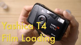 How to Load Fİlm in a Yashica T4 || Film Loading