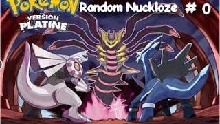 Pokemon Platine Random Nuzlocke #0 Notre premier pokémon / mettez le volume a fond.