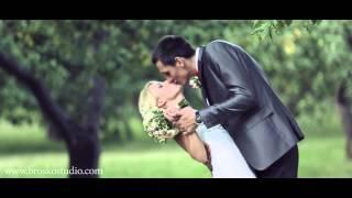 Свадебный клип. Персиковая свадьба Сережи и Нади. Организатор ChoiceWeddingAgency