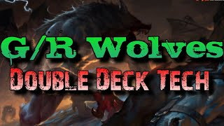 Mtg Double Deck Tech: G/R Wolves in Shadows over Innstrad Standard! (Budget/Competitive)