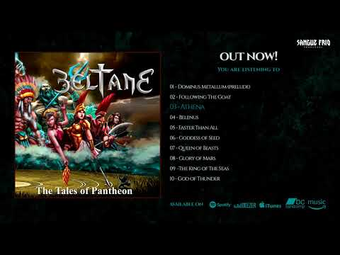 BELTANE - The Tales Of Pantheon (OFFICIAL FULL ALBUM STREAM)