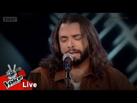 Alex Hamel - The chain | 1o Live | The Voice of Greece