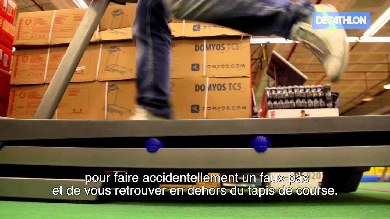 decathlon tapis de course