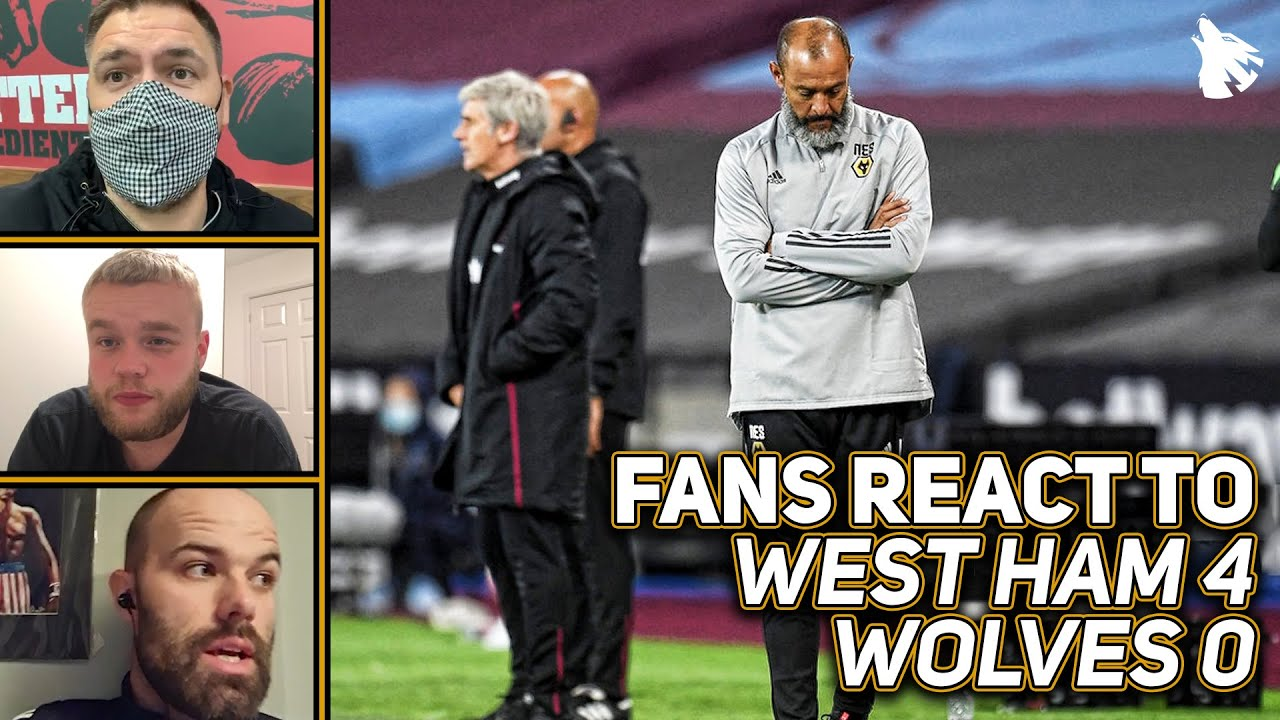 Download Wolves Fans React To West Ham 4-0 Wolves