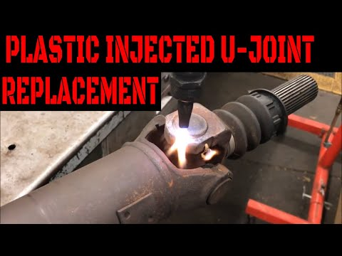 How To Replace Factory Plastic Injected U-Joints