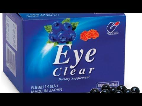 5 thuốc bổ mắt Mỹ và Nhật tốt nhất