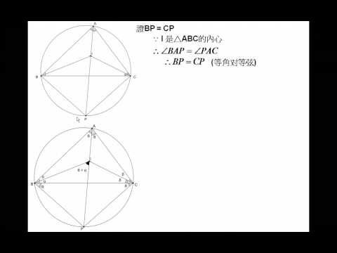 HKCEE 2008 Maths Paper 1 Q17 Solution Part 1 Circle