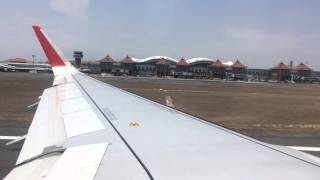 Video TAKE OFF BALI | Air Asia A320-200 Sharklets download MP3, 3GP, MP4, WEBM, AVI, FLV Juni 2018