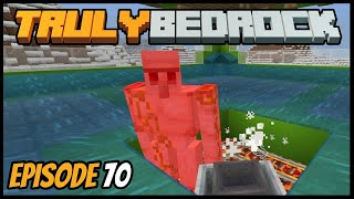 Iron Farm And Villager Breeding! - Truly Bedrock (Minecraft Survival Let's Play) Episode 70