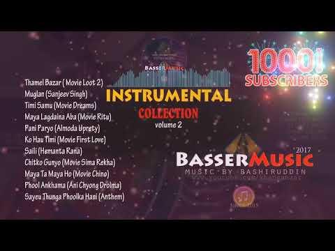 Nepali Instrumental Music | Nepali Dhun Haru | BasserMusicInstrumental Songs