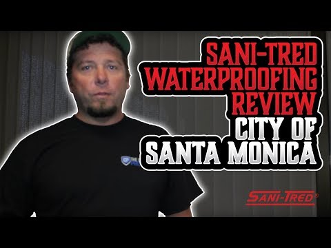 Sani-Tred Waterproofing Review City of Santa Monica