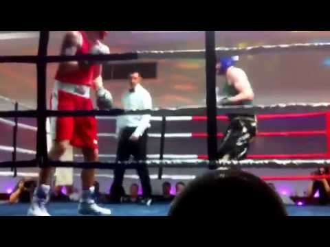 Robert cochrane charity boxing exhibition