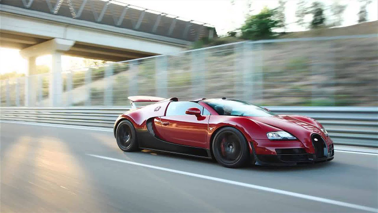 red bugatti veyron grand sport vitesse youtube. Black Bedroom Furniture Sets. Home Design Ideas
