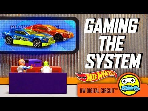 HW Digital Circuit™ In GAMING THE SYSTEM    Hot Wheels