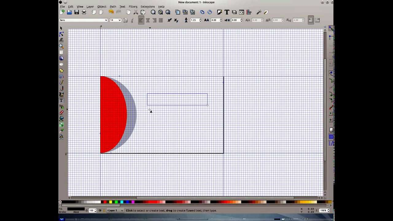 How to create a business card in Inkscape - YouTube