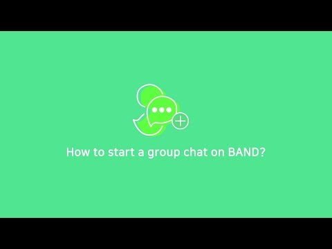 How To Create A Group Chat On BAND