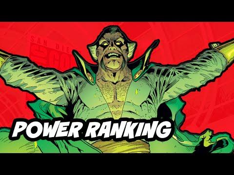 Arrow Season 3 Villains Power Ranking