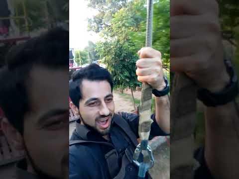 First time Zip Line Ayub park rawalpindi