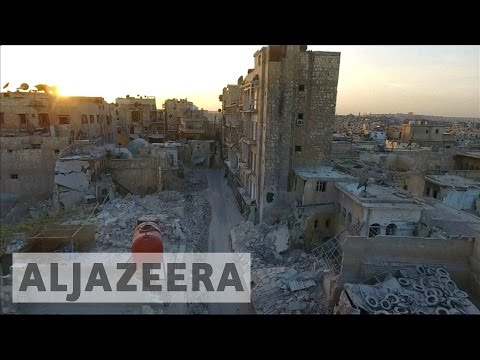 Syria's war: Temporary truce holds in Aleppo
