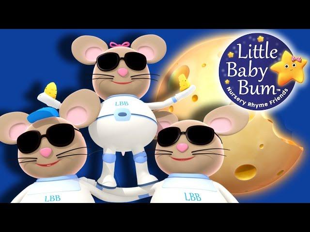 Three Blind Mice   Nursery Rhymes   Original Version By LittleBabyBum!