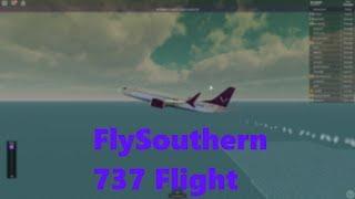 ROBLOX    FlySouthern 737-MAX Flight!