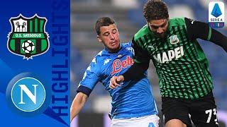 Sassuolo 3-3 Napoli | Il Sassuolo rimonta al 95'! | Serie A TIM