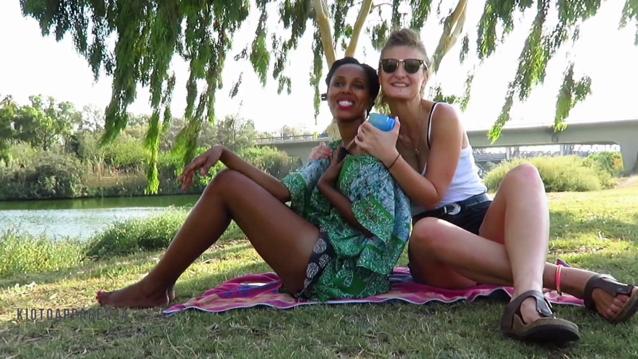 Ethiopia and Italy meet next to the river - ASMR body massage PART 2